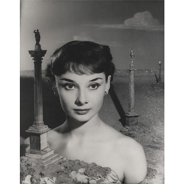 Angus McBean (1904-1990) , Vivien Leigh, 1937, and Audrey Hepburn, 1951