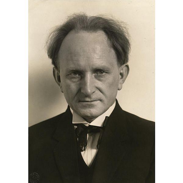 August Sander (1876-1964) , Self-portrait, 1925
