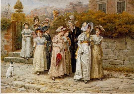 GEORGE GOODWIN KILBURNE (1839-1924) MISS PINKERTON'S ACADEMY