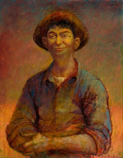 RUSSELL DRYSDALE , Australian 1912-1981 ROCKY McCORMACK Oil on canvas