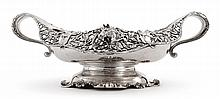 AN AMERICAN SILVER TWO-HANDLED CENTERPIECE BOWL, BLACK, STARR & FROST, NEW YORK, CIRCA 1900 |