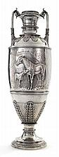 AN AMERICAN SILVER HORSE RACING TROPHY, TIFFANY & CO., NEW YORK, DATED 1899 |