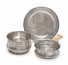 AN AMERICAN SILVER CHILD'S SET, TIFFANY & CO., NEW YORK, DATED 1902 |