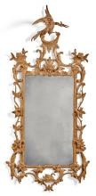 A GEORGE III CARVED GILTWOOD MIRROR, CIRCA 1765 |