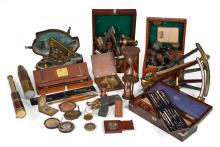 A COLLECTION OF VARIOUSNAUTICAL AND SCIENTIFIC INSTRUMENTS, 17TH-19TH CENTURY |