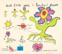 NIKI DE SAINT-PHALLE   Our Love was a Beautiful Flower