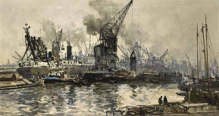 JOHAN HENDRIK VAN MASTENBROEK DUTCH, 1875-1945