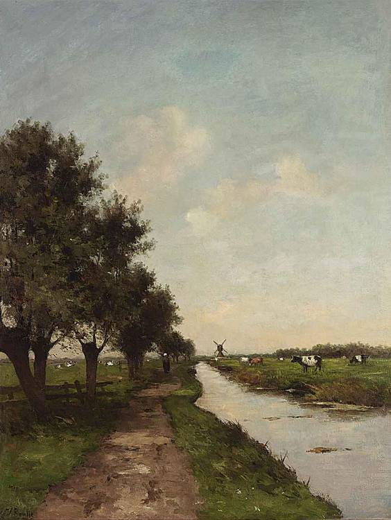 VICTOR BAUFFE DUTCH, 1849-1921