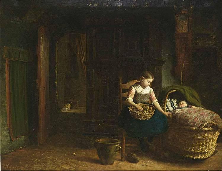 HENDRIK VALKENBURG DUTCH, 1826-1896