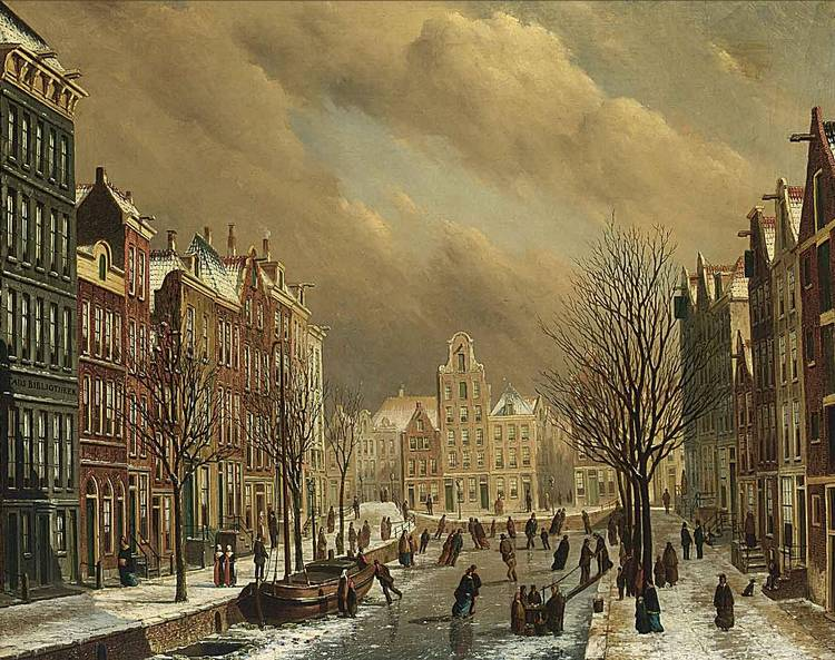 OENE ROMKES DE JONGH DUTCH, 1812-1896