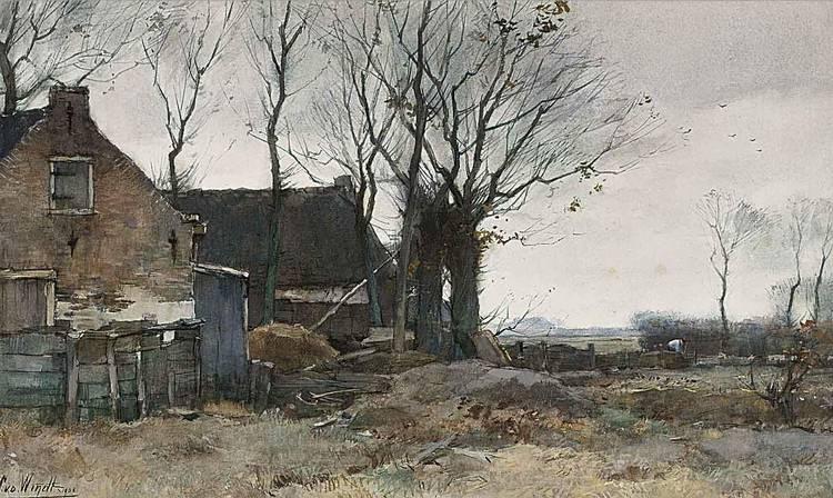 CHRIS VAN DER WINDT DUTCH, 1877-1952