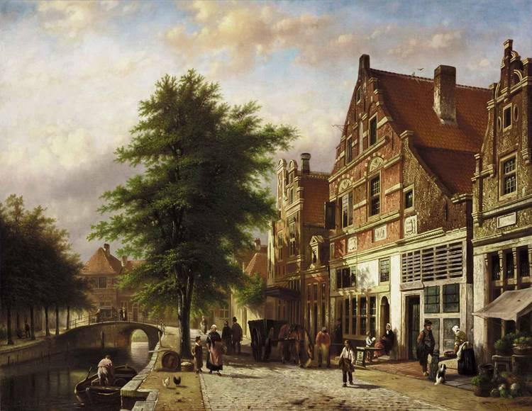 JOHANNES FRANCISCUS SPOHLER DUTCH, 1853-1894