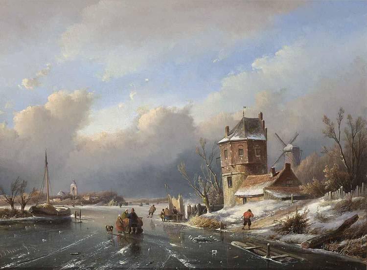 JAN JACOB SPOHLER DUTCH, 1811-1866