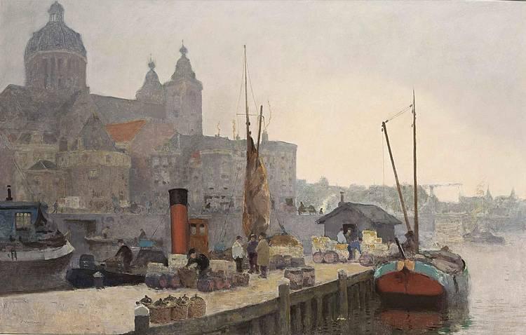 CORNELIS VREEDENBURGH DUTCH, 1880-1946