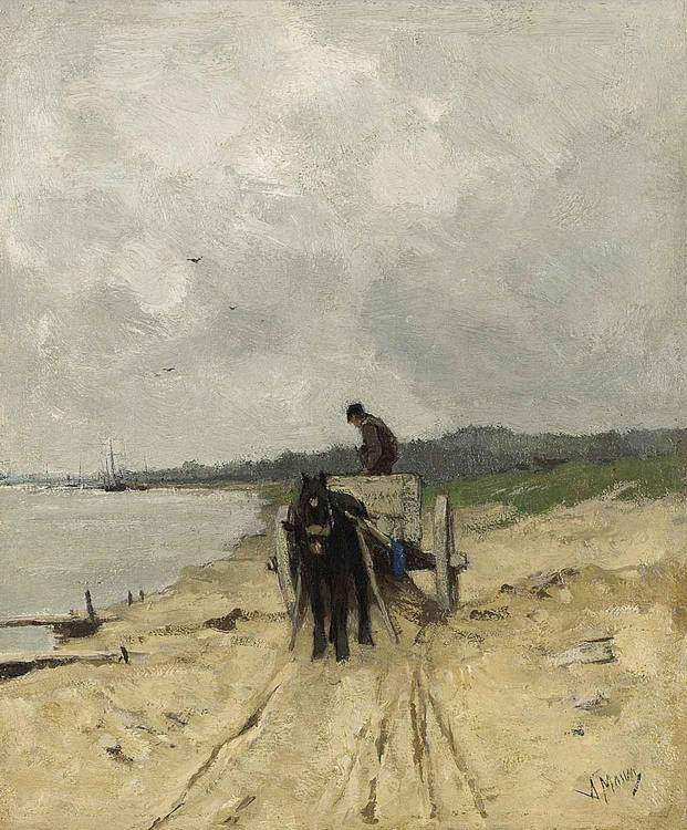 ANTON MAUVE DUTCH, 1838-1888