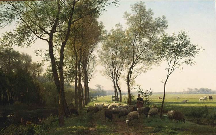 JULIUS JACOBUS VAN DE SANDE BAKHUYZEN DUTCH, 1835-1925