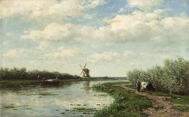 WILLEM ROELOFS DUTCH, 1822-1897
