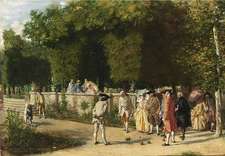 JEAN-LOUIS-ERNEST MEISSONIER FRENCH, 1815-1891