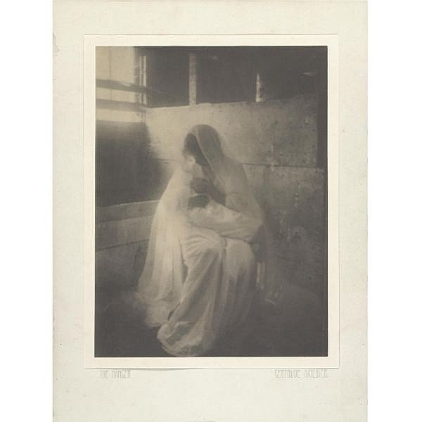 Gertrude Käsebier 1852-1934 , 'the manger'