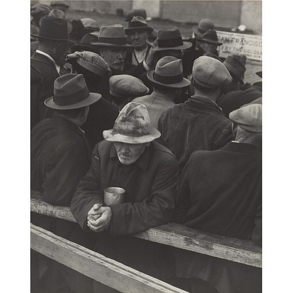 Dorothea Lange 1895-1965 , 'white angel breadline'