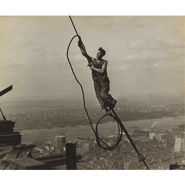 Lewis W. Hine 1874-1940 , worker, empire state building