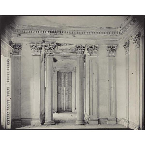 Walker Evans 1903-1975 , breakfast room, belle grove plantation, white chapel, louisiana