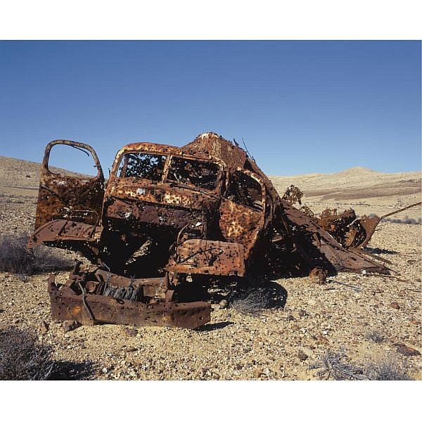 q - Gilad Ophir B.1957 , Untitled (from Necropolis series) digital color print