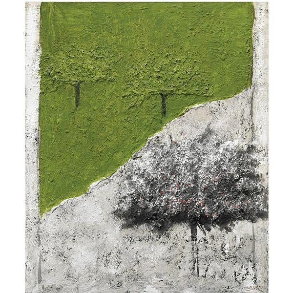 - Carlo Mattioli , 1911-1994 Paesaggio olio su tela