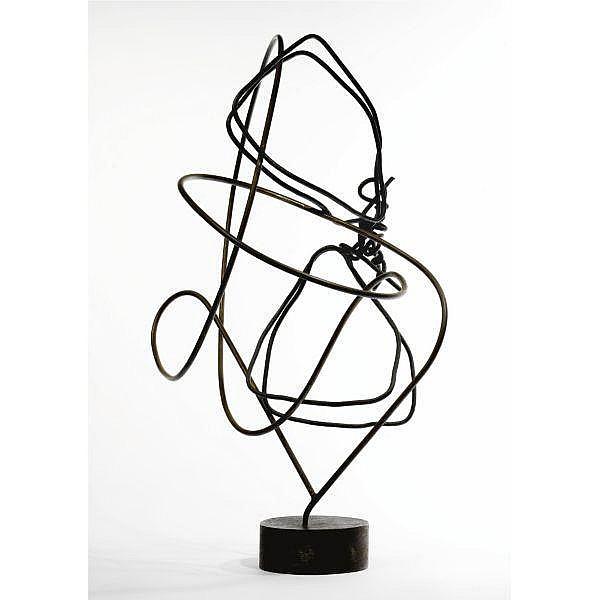 Enio Iommi (b. 1926) , Formas Continuas iron