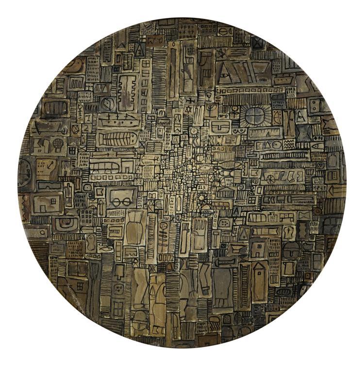 JOSÉ GURVICH (1927-1974)   Círculo universal