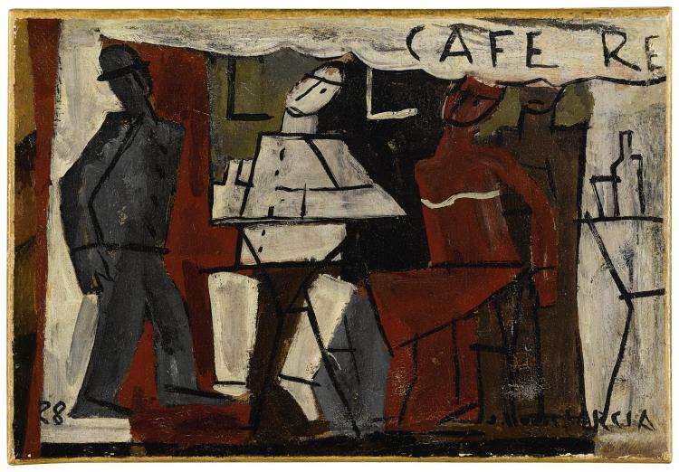 JOAQUÍN TORRES-GARCÍA (1874-1949) | Café de París