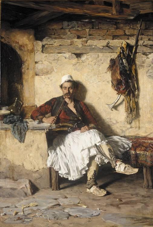 PAUL JOANOVITS (JOVANOWICH) SERBIAN, 1859-1913