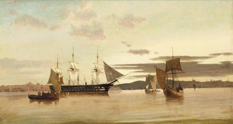 ANTON MELBYE DANISH, 1818-1875