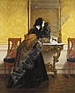 ALFRED STEVENS BELGIAN, 1823-1906, Alfred Stevens, Click for value