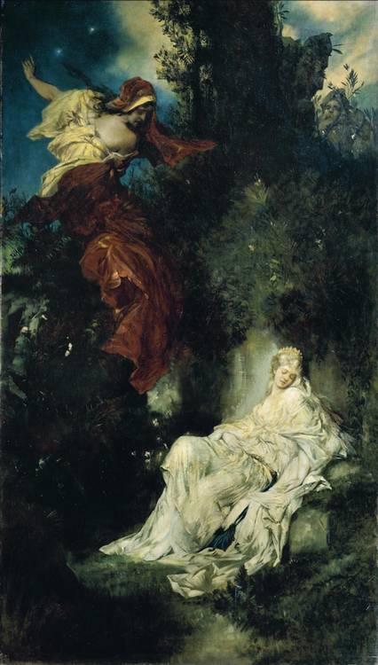 HANS MAKART AUSTRIAN, 1840-1884