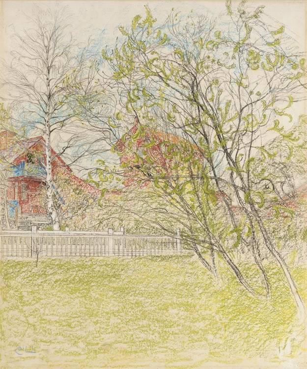 CARL LARSSON SWEDISH, 1853-1919