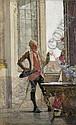 GOTTHARDT JOHANN KUEHL GERMAN, 1850-1915, Gotthardt Kuehl, Click for value