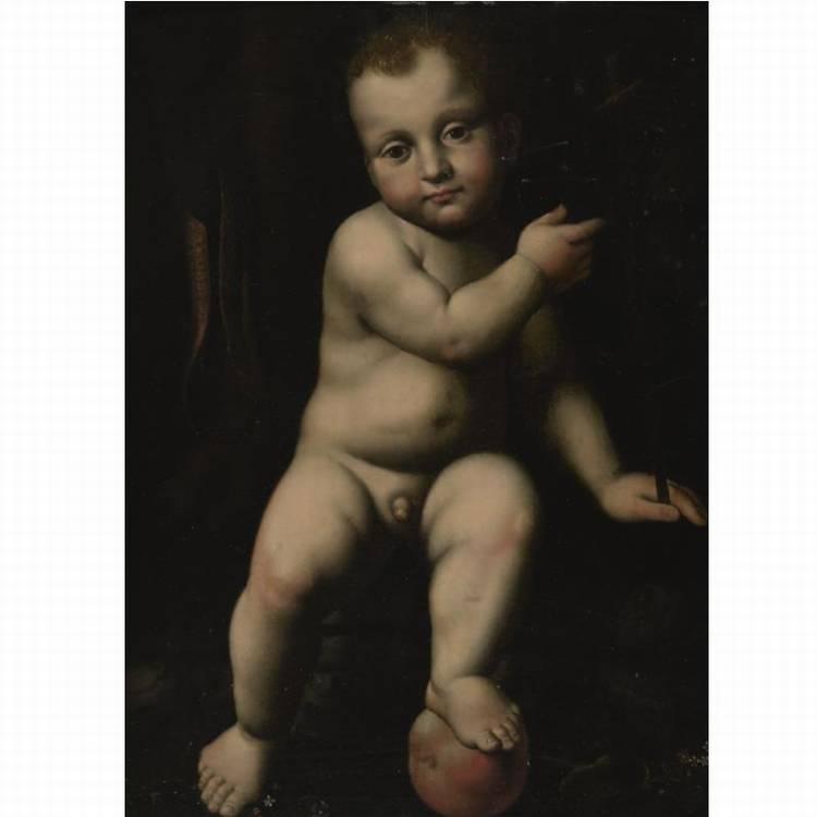 STUDIO OF BERNARDINO LUINI DMENZA LUINI CIRCA 1480 - 1532 MILAN
