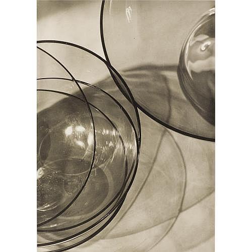 Max Baur, 1898-1988 , Study of glassware, 1930s