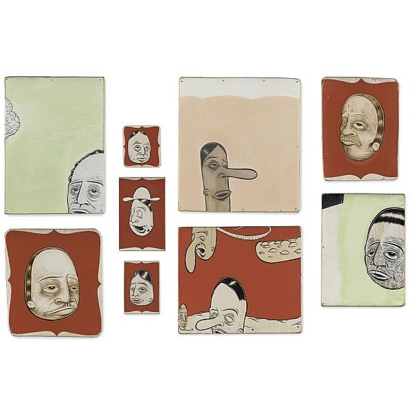 Barry McGee , b. 1966 Untitled