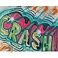 Crash (John Matos) , b. 1961 Untitled spray paint on canvas   ,  Crash, Click for value
