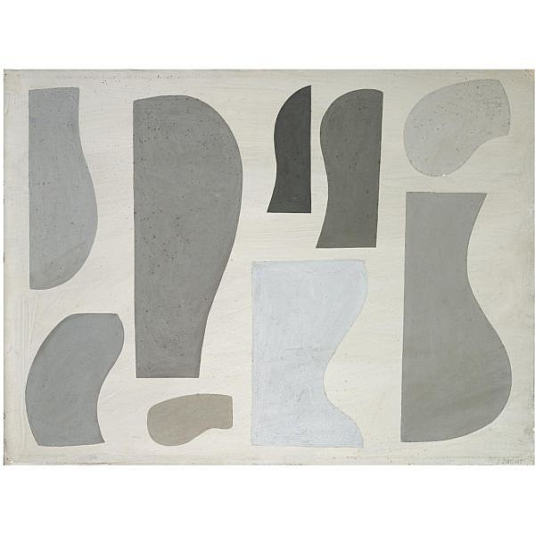 Jessica Dismorr , 1885-1939 Related Forms 1937 gouache on card