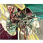 - Stanley William Hayter , 1901-1988 untitled oil on canvas   , Stanley William Hayter, Click for value