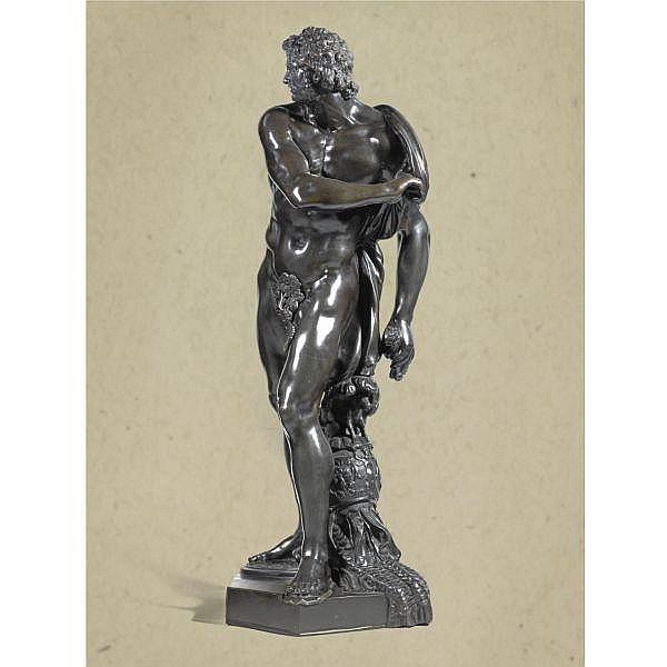 After a model by Michel Anguier (c. 1612-1686) French, Paris, second half 17th century , Mars qui quitte ses armes (Mars discarding his armour) bronze