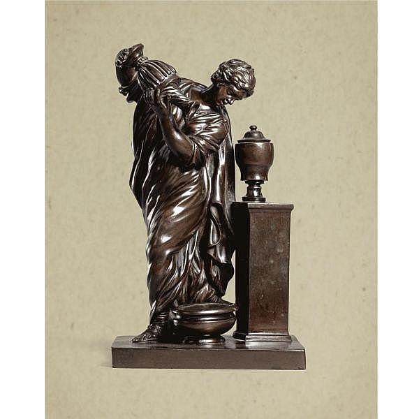 Giovanni Battista Foggini (1652-1737) Italian, Rome, circa 1700 , Temperance bronze
