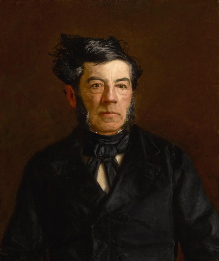 Thomas Eakins Portrait Of General George Cadwalader