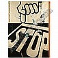 Mimmo Rotella , Stop décollage on canvas, Mimmo Rotella, Click for value