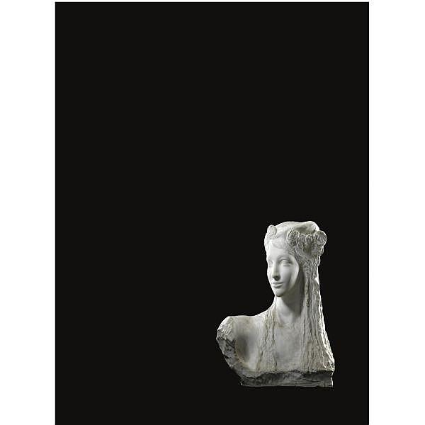 Victor Rousseau Belgian, (1865 - 1954) , Femme plaster