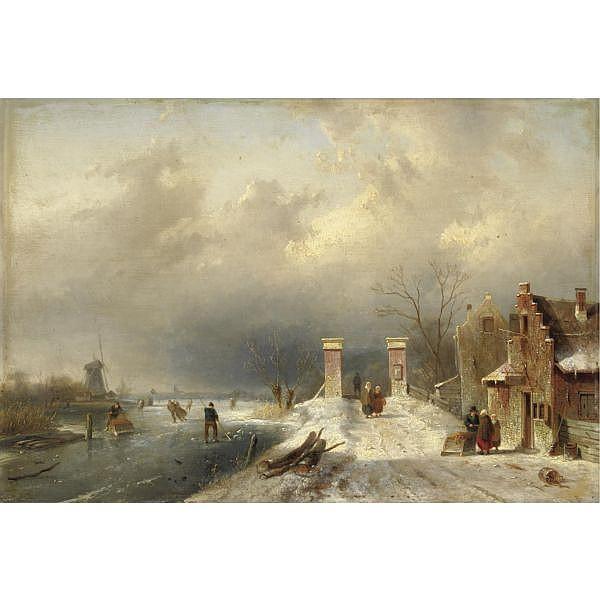 Arnaldo Tamburini (Firenze 1854 - 1908) , la cantiniera olio su tela