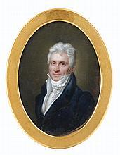 CLAUDE-JEAN BESSELIÈVRE | Portrait d'homme, vers 1820